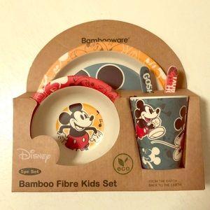 Disney Bambooware 5 Piece Kids Dining Set